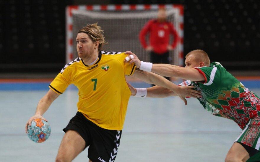 Lietuvos rankininkai pradeda kovas pasaulio čempionato atrankoje
