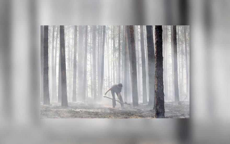 Rusijoje siaučia gaisrai