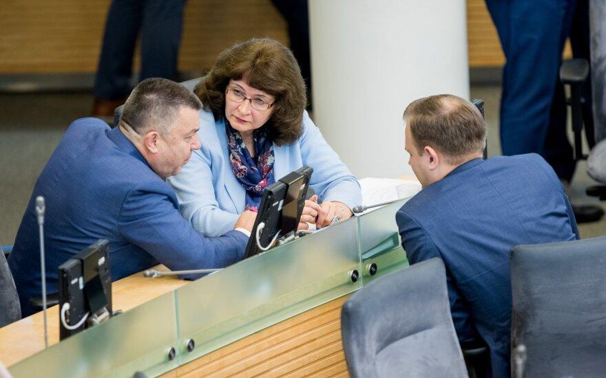 Antanas Matulas, Rima Baškienė, Arvydas Nekrošius