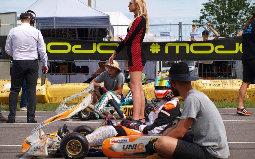 """""""Rotax Nordic"""" čempionate - Lietuvos lenktynininkų pergalės"""