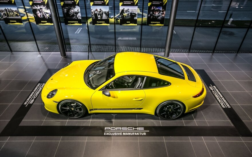 """Porsche"" į Vilnių atsivežė 8 ypatingus modelius"