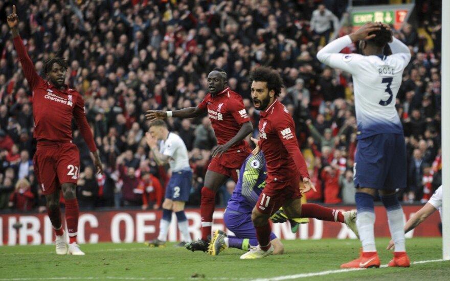 Liverpool triumfas prieš Tottenham
