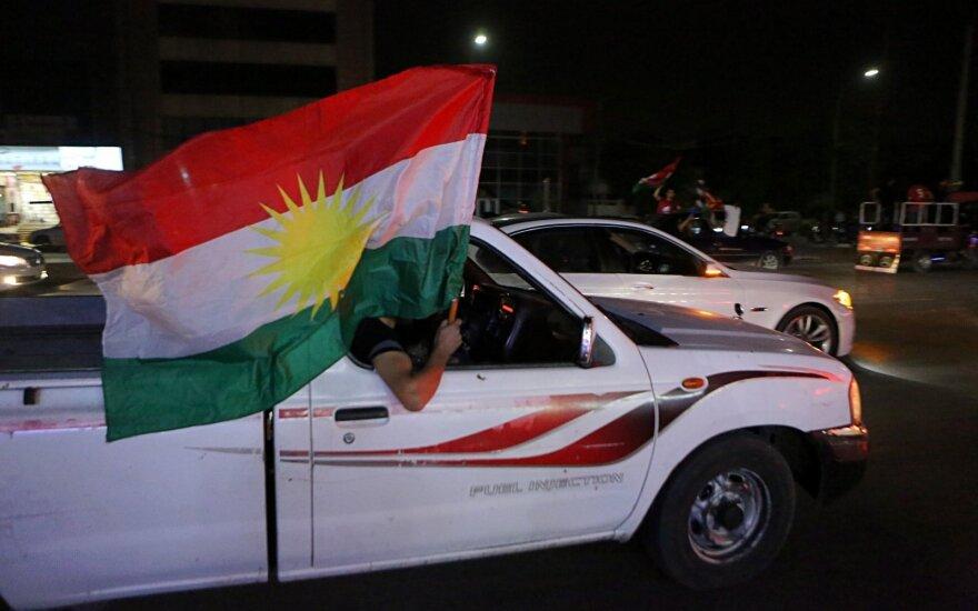 Kurdų nepriklausomybės idėjai pritarė daugiau kaip 90 proc. balsavusiųjų