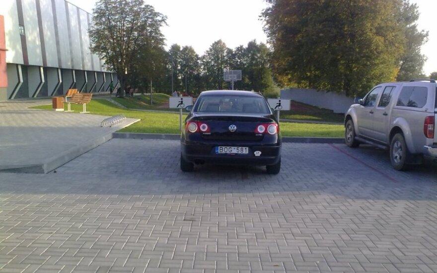 Šakiuose, prie Jaunimo kūrybos ir sporto centro. 2011-09-25