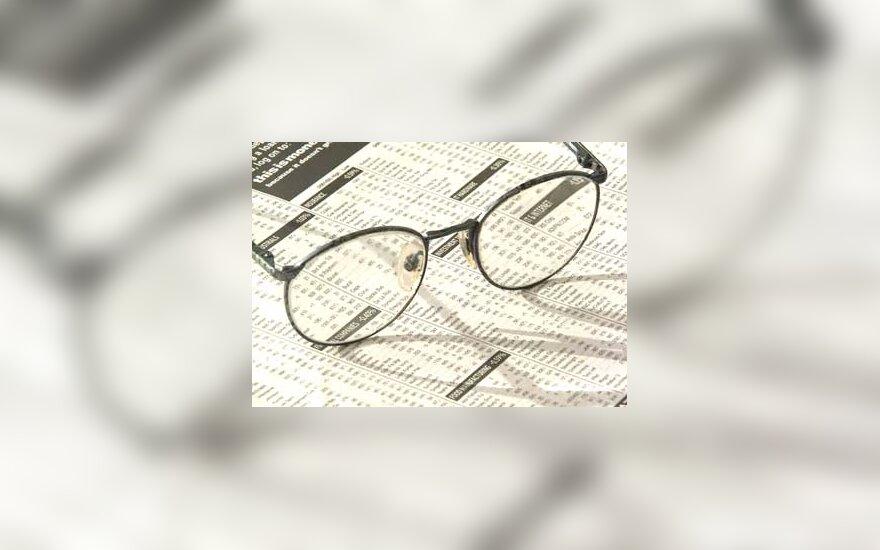 akiniai, skaitymas, spauda, laikraštis