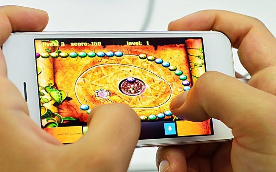 Žaidimas telefone