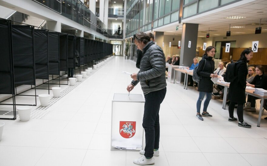 Almost 45 thousand Lithuanians cast ballots in first 2 days of early voting