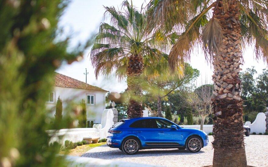 """Naujasis """"Porsche Macan"""""""