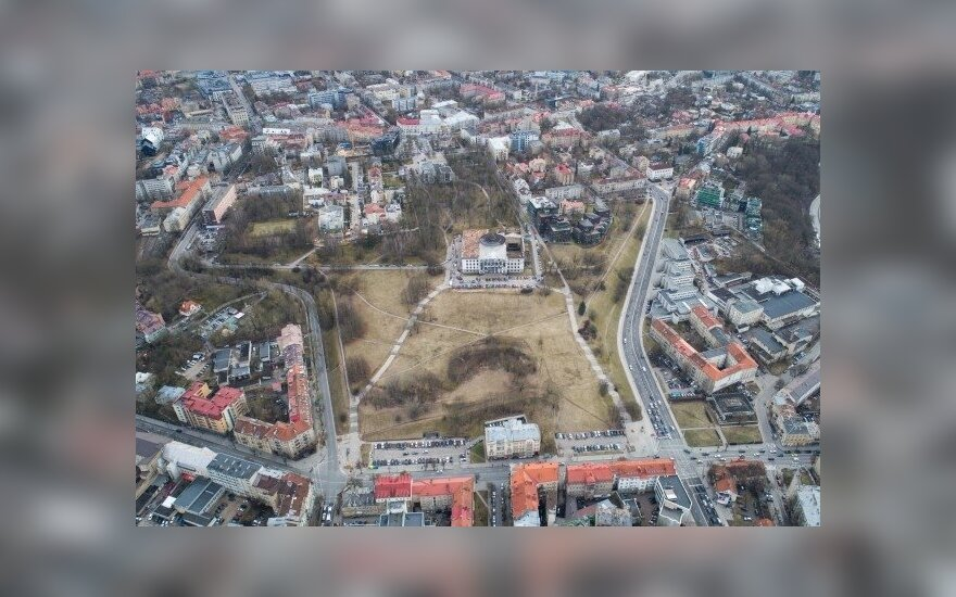 "The development of the residential housing project ""Matau Vilnių"" near the Tauras Hill has begun"