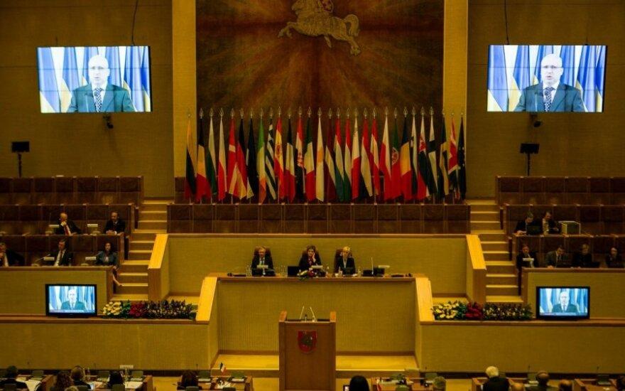 O. Turčynovas: didelė tikimybė, kad Rusija įsiverš į Ukrainą