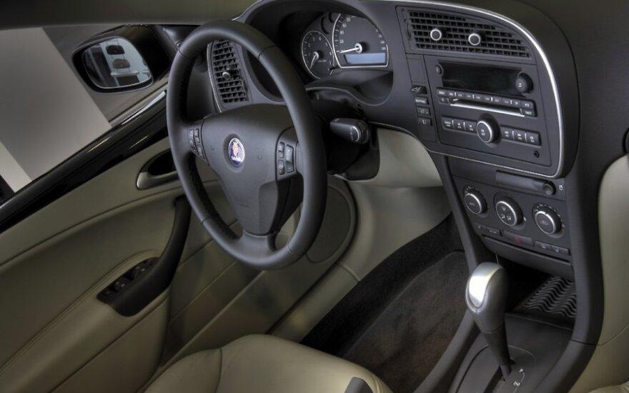 """""""Saab 9-3"""" Cabrio vairas"""