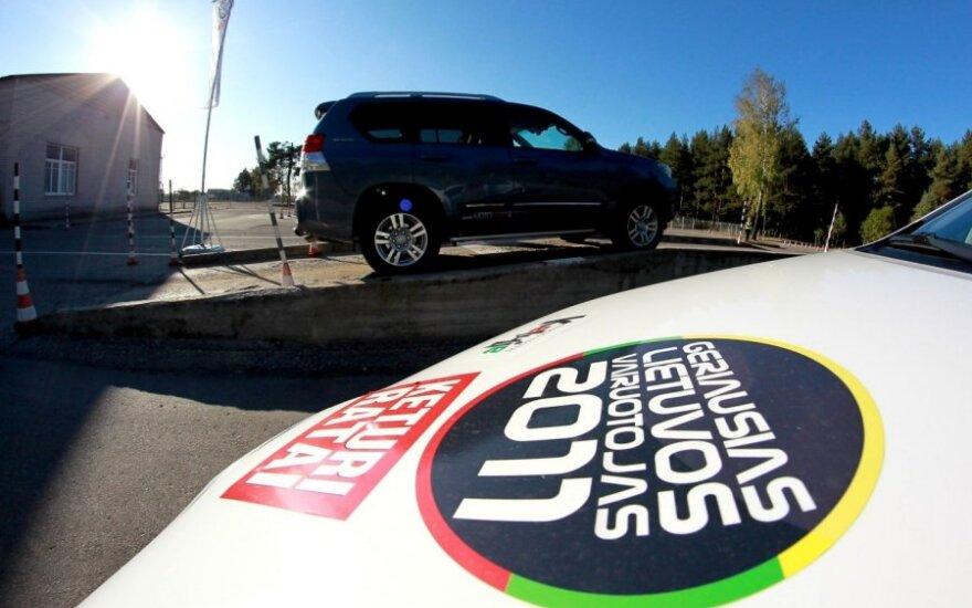 Geriausio Lietuvos vairuotojo konkursas 2011