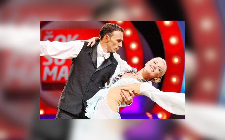 Tomas Kairys ir Violeta Burneikienė
