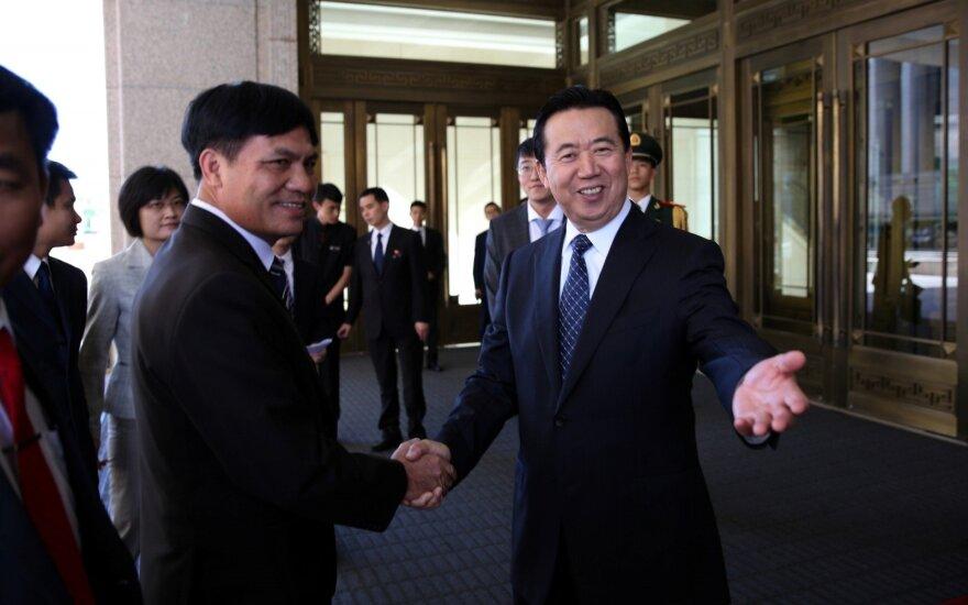 Interpolas prašo Kinijos informacijos apie savo dingusį prezidentą