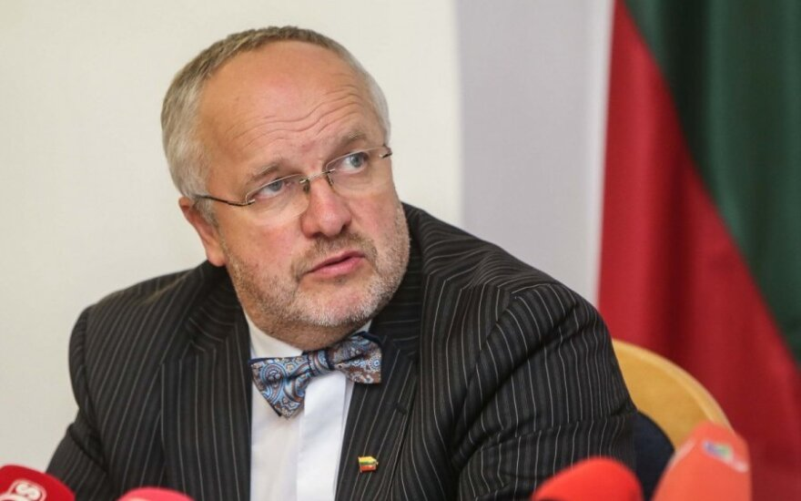 Lithuanian Minister of National Defence Juozas Olekas