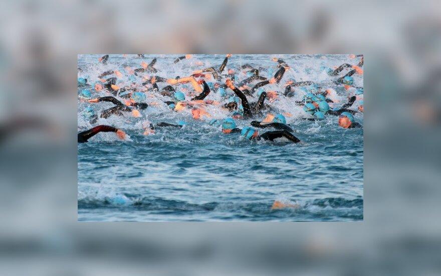 Plaukimo varžybos atvirame vandenyje