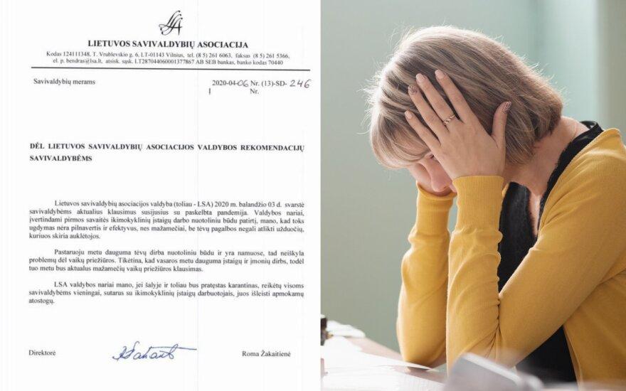 Ikimokyklinio ugdymo įstaigoms – mokytojus į neviltį varančios rekomendacijos: kai kurie gavo raštus eiti priverstinių atostogų
