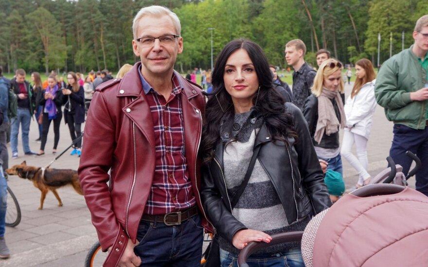 Aras Vėberis ir Martyna Kerbedytė