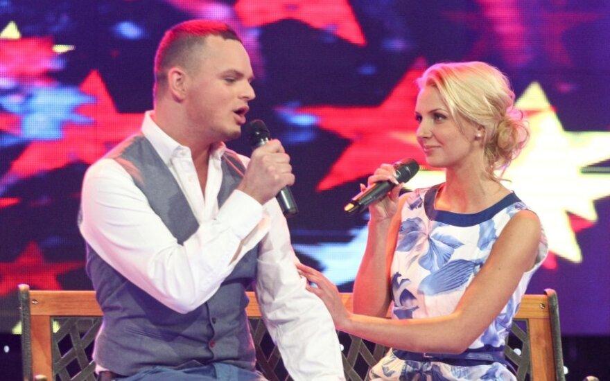 Ruslanas Kirilkinas ir Monika Kvietkutė