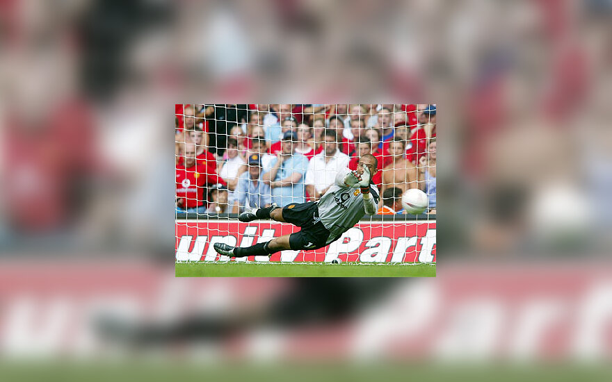 """Manchester United"", Tim Howard"