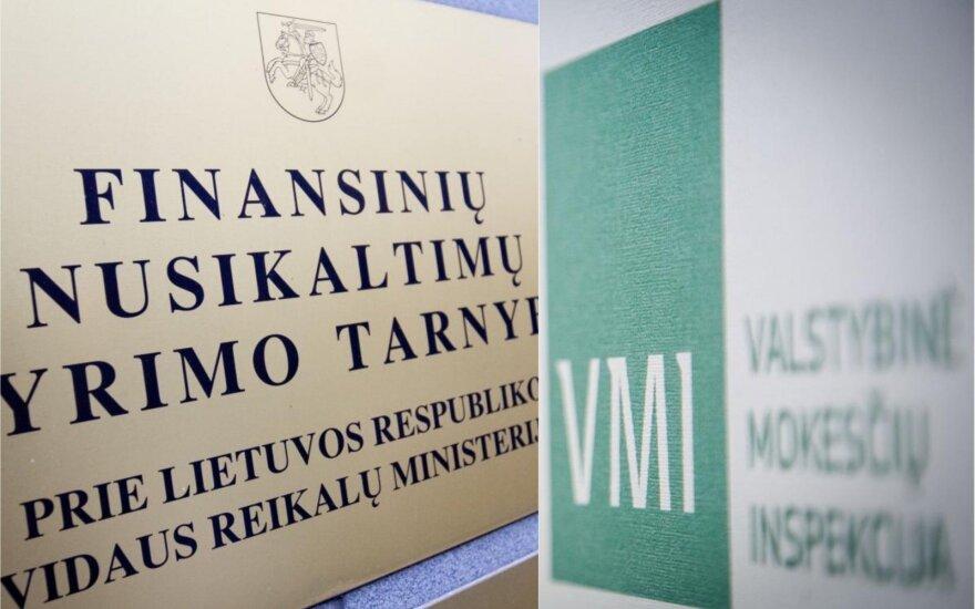 FNTT atliko kratas mokesčių inspektorės namuose: žala milžiniška