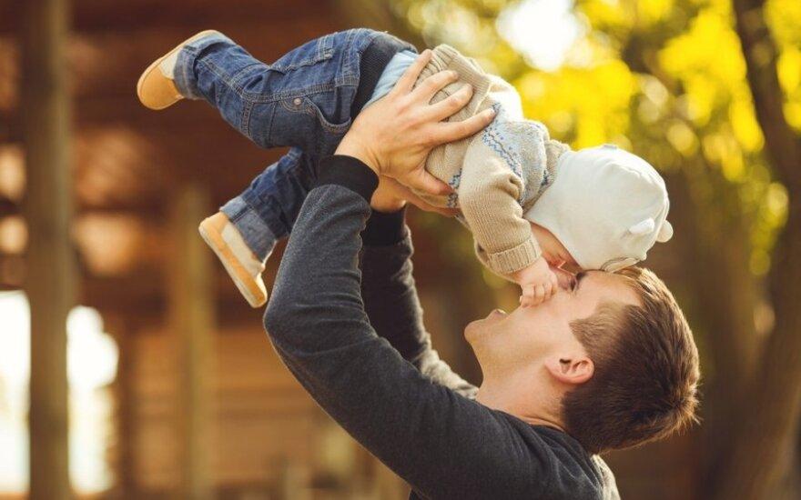 Kam vaikui reikalinga tėviška meilė?
