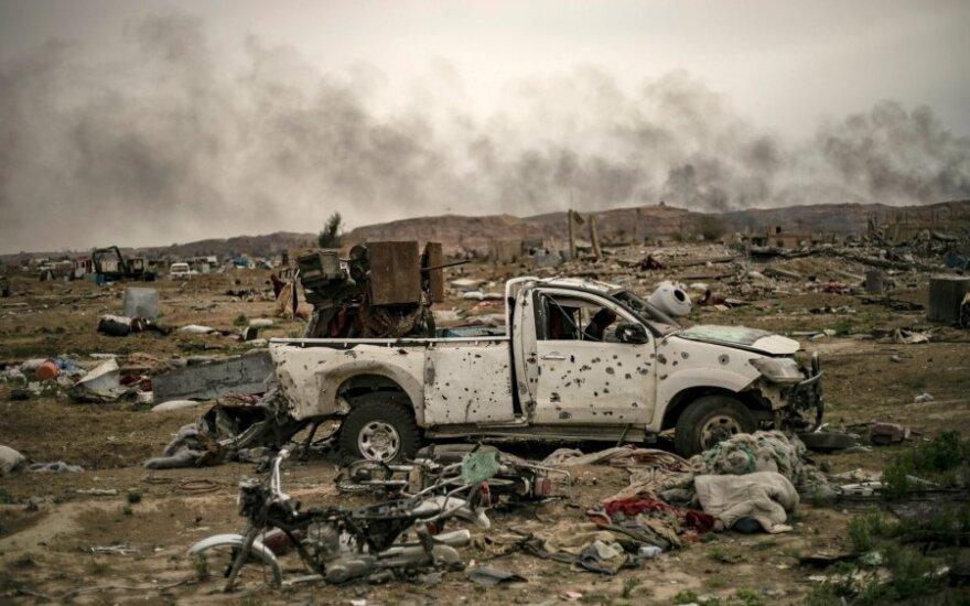 """Banguzas, paskutinė """"Islamo valstybės"""" kontroliuota teritorija"""
