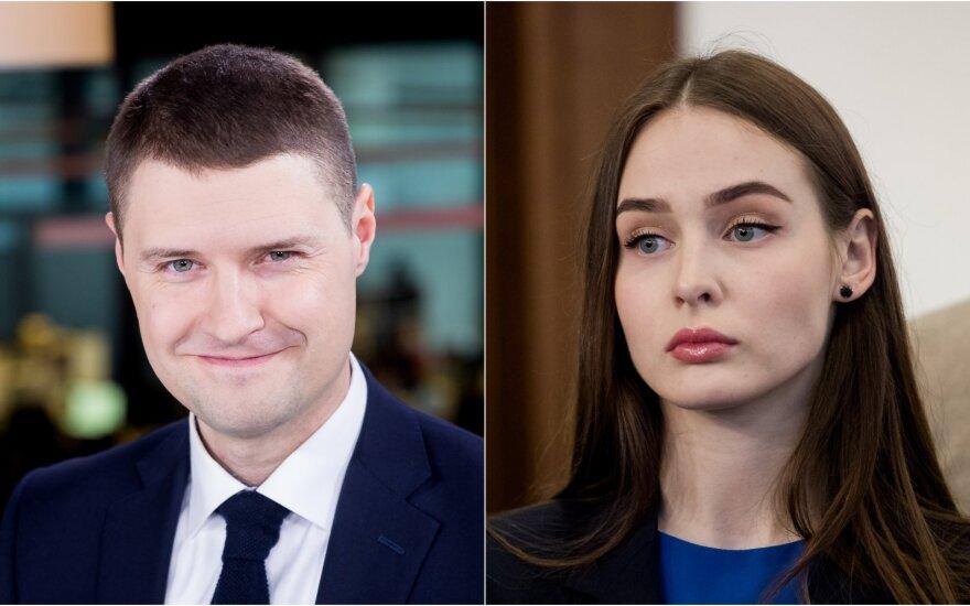 Mykolas Majauskas ir  Lina Svidinskaitė