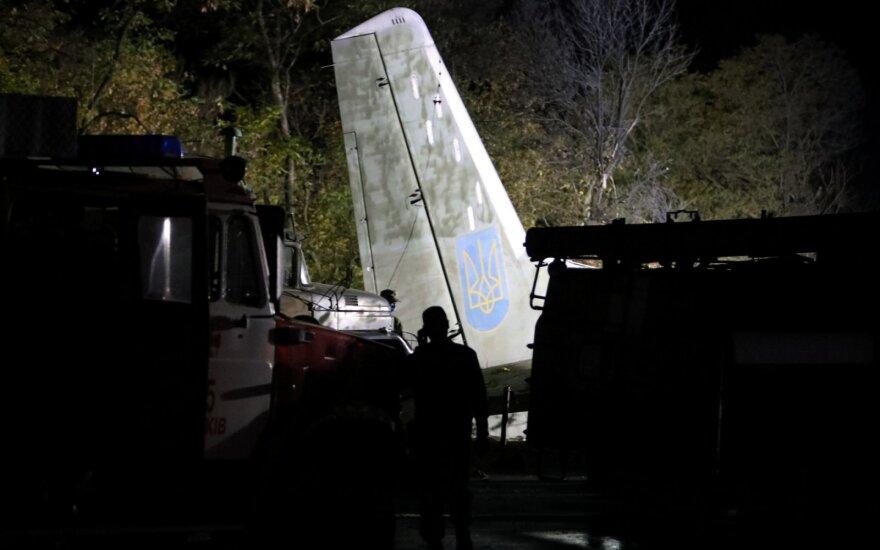 Ukrainoje sudužus kariniam lėktuvui žuvo daugiau kaip 20 žmonių