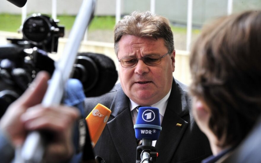 "Minister Linkevičius in USA: ""Big values shouldn't be for the big guys and small values for the small guys"""
