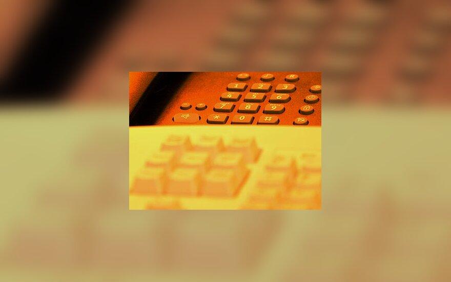 Telefonas, klaviatūra, (IT)