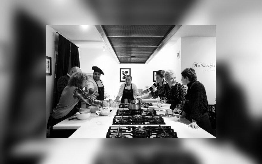 Aistės Stonytės kulinarijos studijos įkurtuvės