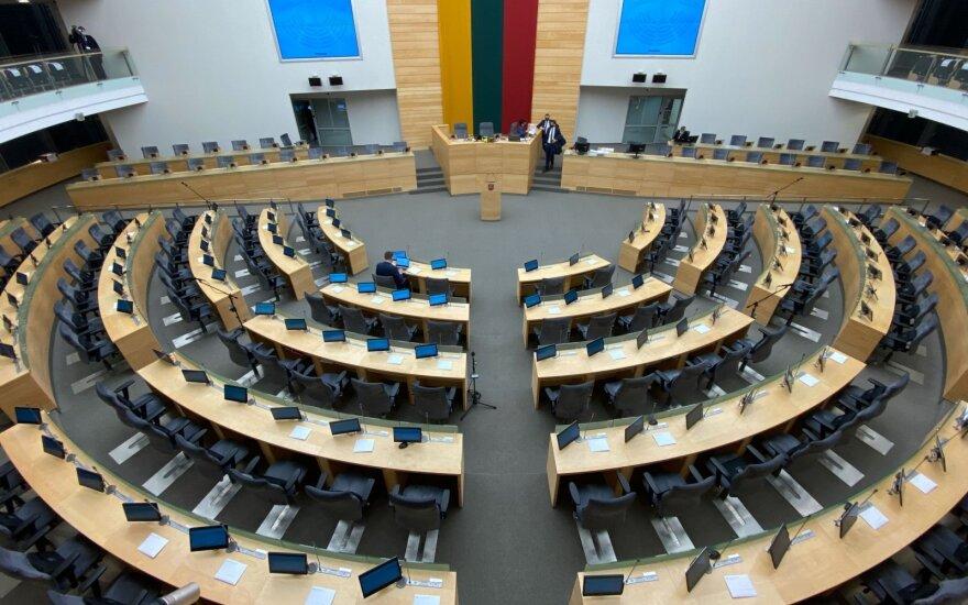 """Siūlo Seime kurti """"auksinio balso frakciją"""": pretenduotų ir į postus"""