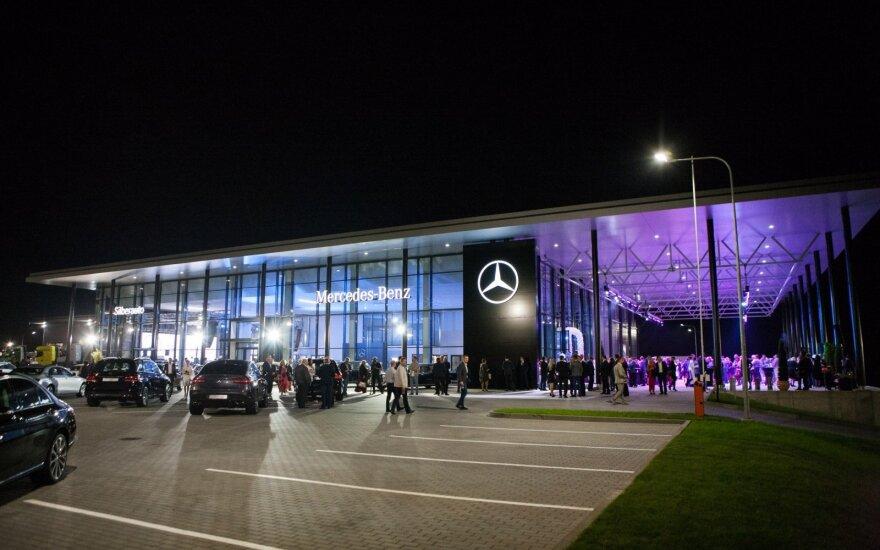 "Klaipėdoje atidarytas 4,5 mln. eurų kainavęs ""Mercedes-Benz"" centras"