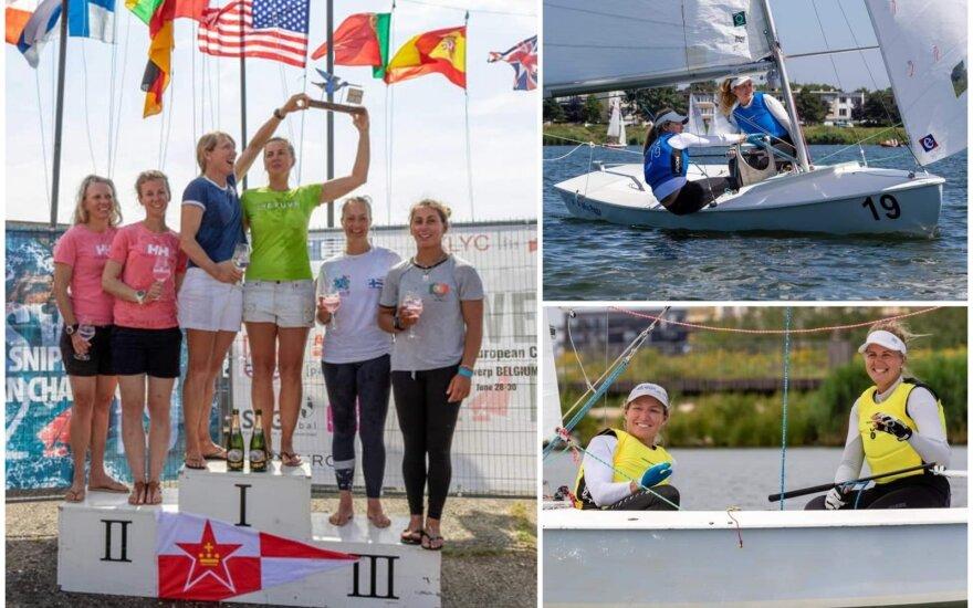 Gintarė Scheidt su Kathleen Tocke tapo Europos čempione / FOTO: Belgian Snipes