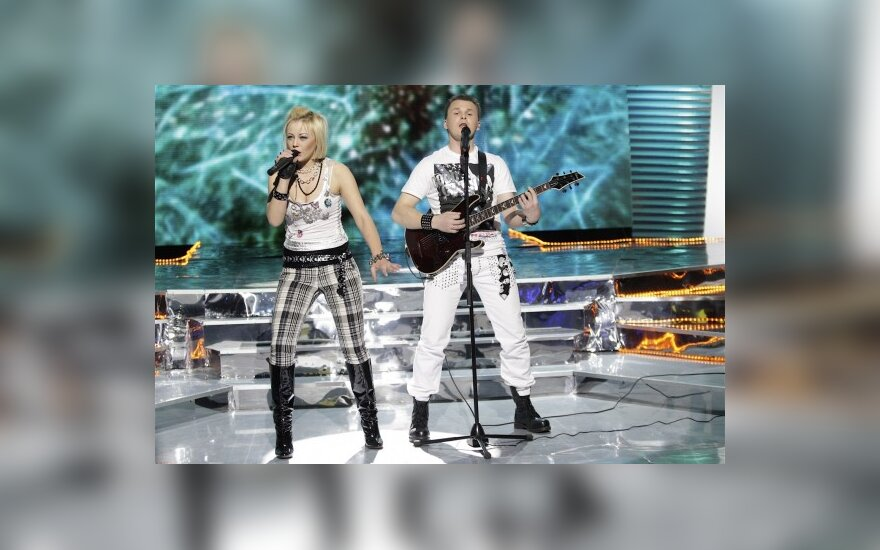 """Talentingiausiais """"Žvaigždžių duetuose"""" tapo G.Leškevičius ir Mia"""