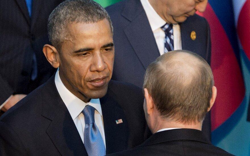 Barackas Obama,Vladimiras Putinas