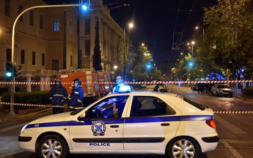 Graikijos šiaurėje per avariją nukentėjo 11 migrantų ir žmonių kontrabandininkas