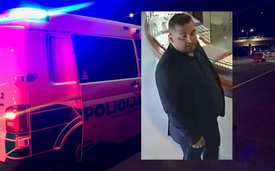 Telšių policija prašo visuomenės pagalbos: ieškomas vagis