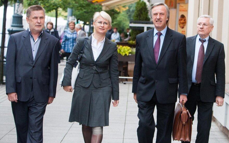 Valdas Vasiliauskas, Neringa Venckienė ir Povilas Gylys