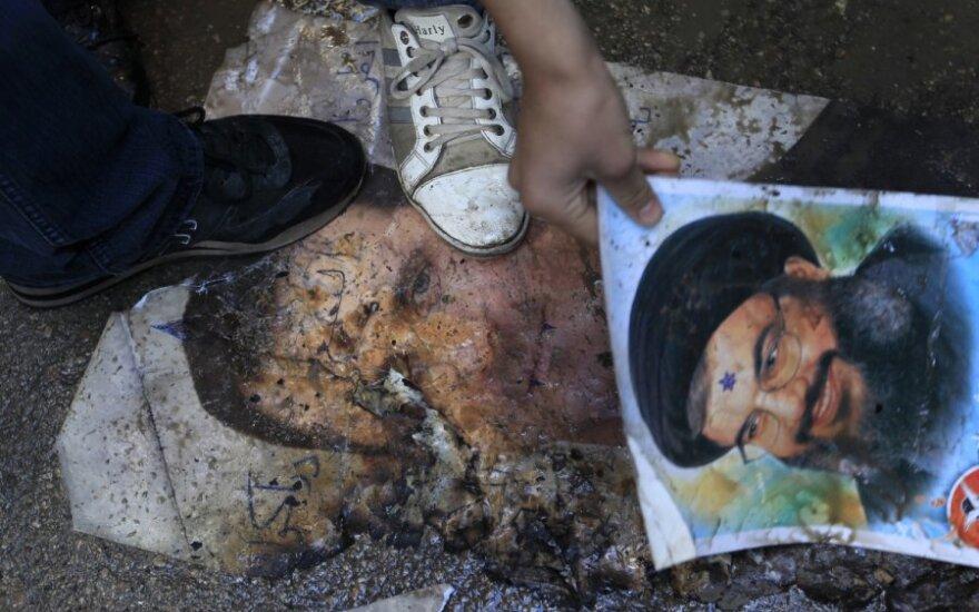 Sirai protestuoja prieš B. al-Assado režimą