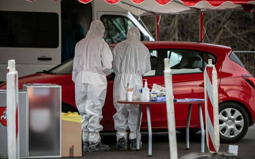 Lietuvoje – 437 užsikrėtimo koronavirusu atvejai: pranešama apie susirgimus Kauno, Klaipėdos ir Panevėžio ligoninėse