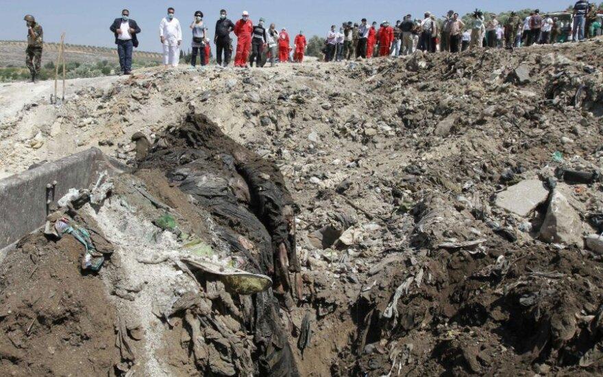 Turkijoje rasta masinė kapavietė