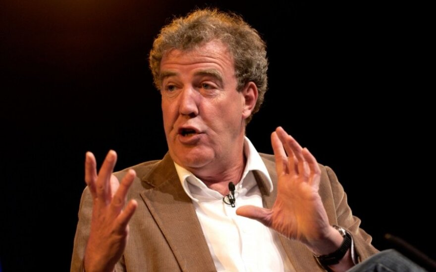 """J. Clarksonas atsiprašė """"Top Gear"""" prodiuserio už smūgį ir sumokėjo kompensaciją"""