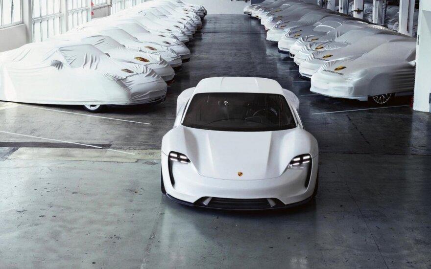 """""""Porsche Mission E"""" prototipas"""
