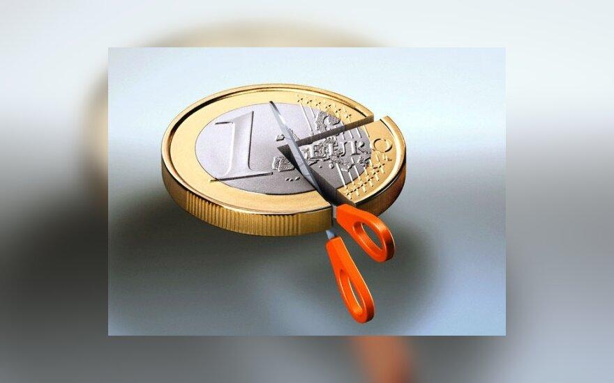 ECB: nė vienai iš eurozonos šalių negresia nemokumas
