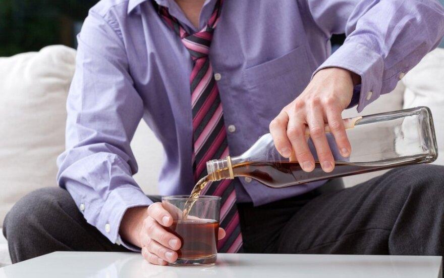 Kaip alkoholis paveikia konkrečius organus