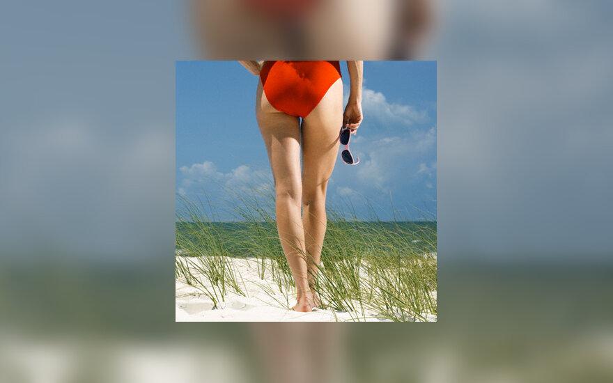 Moteris, kojos, grožis