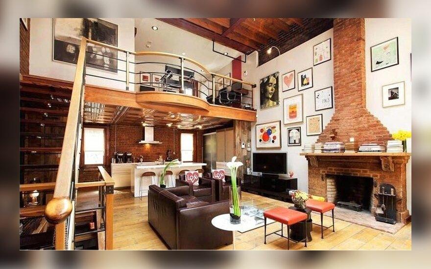 Johnny Deppo ir Kate Moss namai