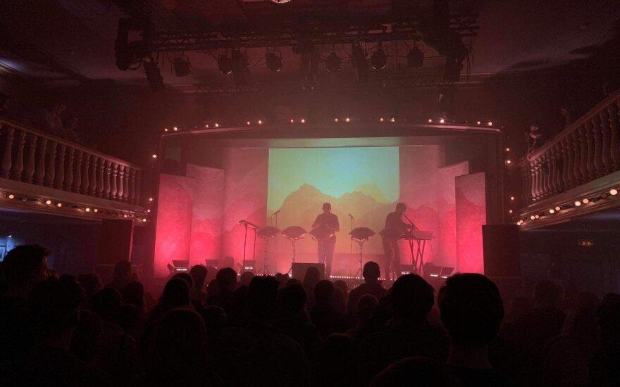 """Hang Massive"" koncerto akimirka"